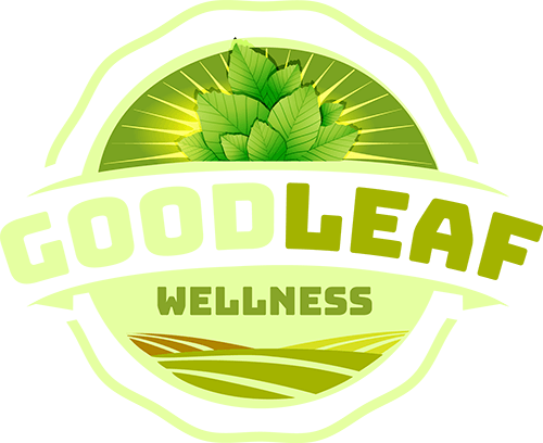 Goodleaf Wellness Logo Transparent